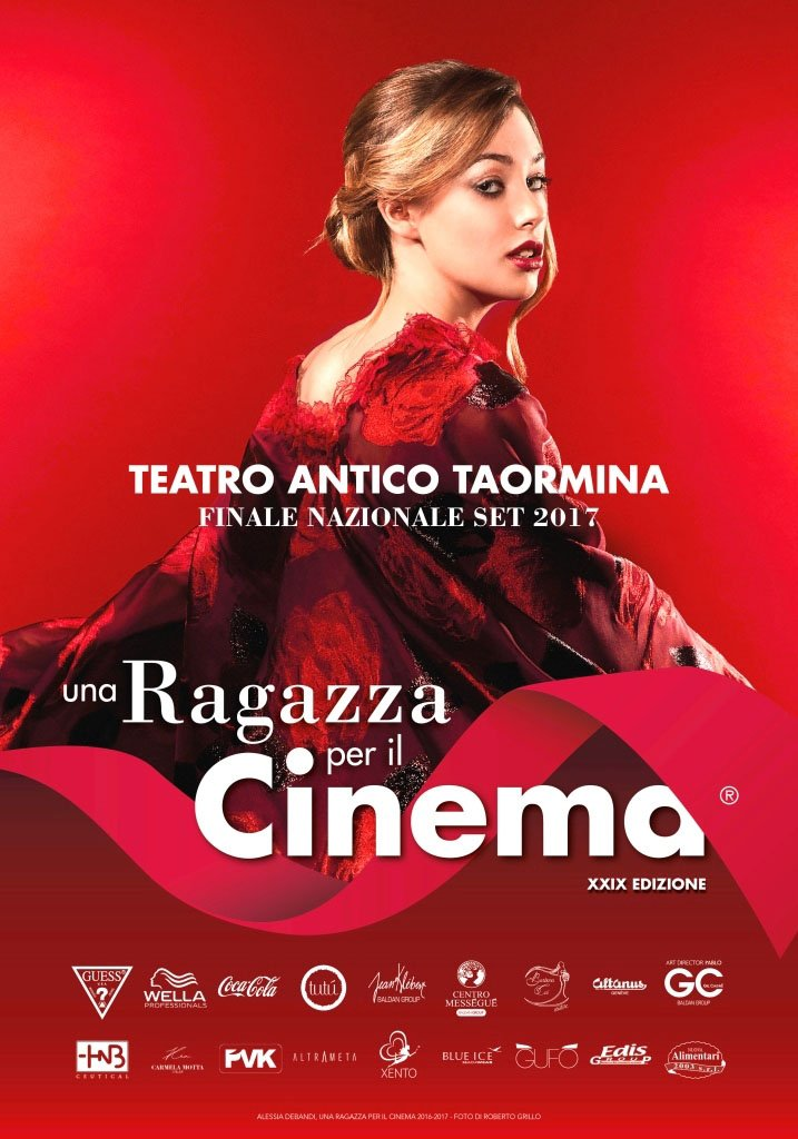 AA Manifesto ufficiale Una Ragazza per il cinema 2017 – ph Roberto Grillo